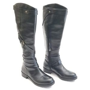 Schuler & Sons Anthropologie Riding Boots Size 7 B